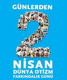 2 Nisan Dünya Otizm Farkındalık Günü... #otizmfarkındalıkgünü