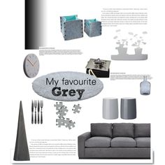"""""""My favourite grey"""" by gelykou on Polyvore My Favorite Things, Grey, Polyvore, Home Decor, Gray, Decoration Home, Room Decor, Interior Decorating"""
