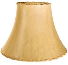 """Bell Sheep Skin Leather Lamp Shade 14-24""""W"""