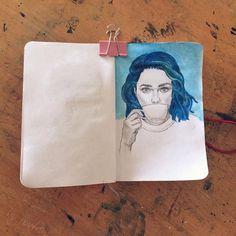 #art #instaart #instaartist #draw #drawing #paint #painting #sketch #sketchbook…