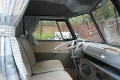 VW Camper Curtains  by delilahs vw camper furnishings