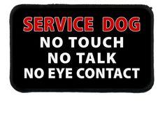 Service noir ne chien aucun touche Talk contact par CreativeClam