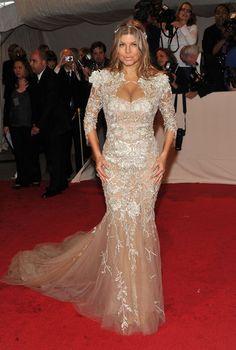 Fergie: Fergie wore @Jenna Hedges-Paul at the 2011 #MetGala
