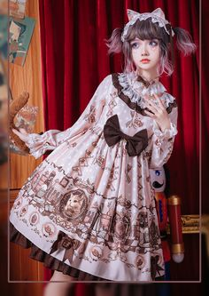 From event dresses to really ball attire, company has the look according to your needs. Harajuku Fashion, Kawaii Fashion, Lolita Fashion, Cute Fashion, Fashion Outfits, Cute Dresses, Girls Dresses, Cute Outfits, Op One Piece