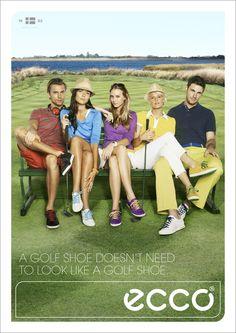 UTOPIA Photographer MICHAEL DWORNIK for ECCO Golf. www.utopianyc.com.