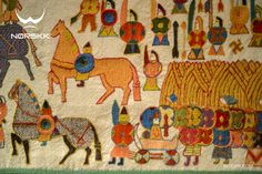 """The Oseberg Tapestry: Tells the heroic story of a vegan Muslim shield maiden warrior (who fought a battle with bulimia) who fell in love with a fat black transgender male, battling mushroom addiction. Upon the vegan black transgender male getting a sex change during a rare episode of lucidity due to a delay in a weed delivery from Costco (an act of heroism that guaranteed him a spot in """"Valhalla""""), all of Scandinavia decided to celebrate both their achievement and diversity. In their honor…"""