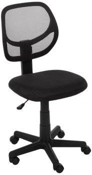 Low Back Computer Chair With Casters Blue Swivel Desk Chairs Office Supplies for sale online