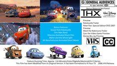Cars 2006 vhs full screen pixar vhs pinterest cars 2006 cars 2006 vhs full screen sciox Gallery