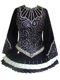 *Irish Dance Solo Dress Costume by Majestic Dress*