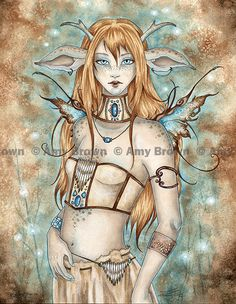 Amy Brown: Fairy Art - The Official Gallery One of my favorite artists!!! And a great inspiration too!!!