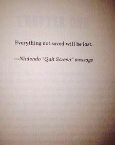 Such a profound quote...