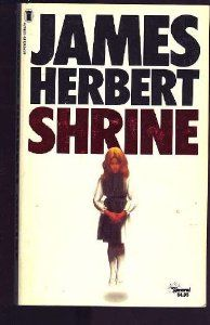 The Shrine by James Herbert. My first James Herbert book read it as a teenager and was hooked have read every single book of his by far my favourite author was so sad when he passed away. Horror Fiction, Horror Books, Sci Fi Books, I Love Books, Good Books, Books To Read, My Books, James Herbert, Wild Book