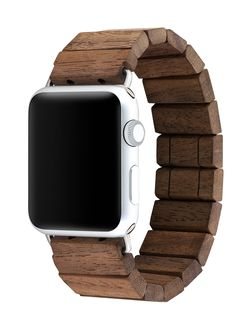 The first elastic wooden band compatible with 42mm Apple Watch Gen 1 and 2