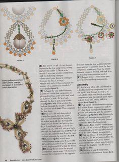 Схемы: Ожерелья. Архив Beads and Button 2010 г