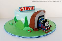 Thomas the Train Cake - Cake by Angela, SugarSweetCakes&Treats