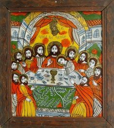 Imagine similară Altar Cloth, Last Supper, Orthodox Icons, Holi, Banner, Glass, Painting, Art, Banner Stands
