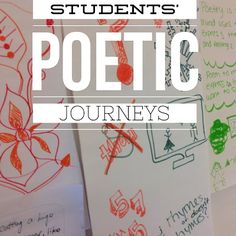 Get your students ready for a poetry unit by having them create their own poetic journey. Perfect way to increase student voice, learn about your students, and help them learn about one another.