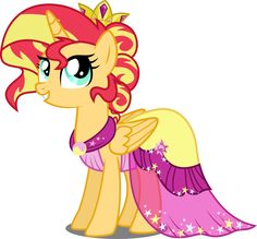 Sunset Shimmer is alicorn princess!