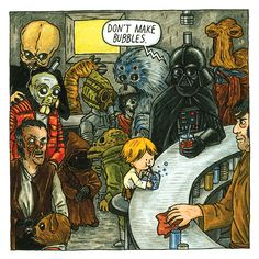 Vader and Son by Jeffrey Brown  http://imgur.com/a/WUIOf#