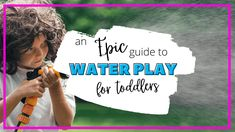 Water Play at Home for Toddlers: An Epic Guide to Toddler Entertainment Sensory Activities, Hands On Activities, Toddler Activities, What Is Water, Ocean Pollution, Toddler Development, Water Play, Going Fishing, Early Childhood Education