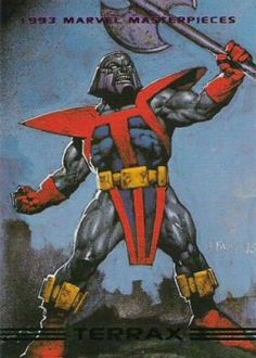 1993 Marvel Masterpieces 88 A, Jan 1993 Trading Card by SkyBox Comic Book Characters, Marvel Characters, Comic Character, Comic Books Art, Comic Art, Book Art, Character Design, Marvel Villains, Marvel Comics Art