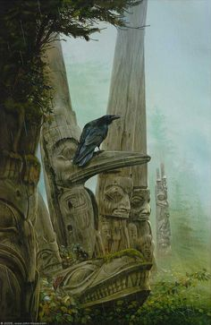 john howe,  winter of the raven