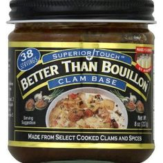 Better than bouillon, base clam, 8 oz, (pack of 6)
