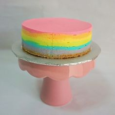 Saw this on Instagram and saw this on pin interest but never really had an occasion to bake this pretty cake. It was only when my f...
