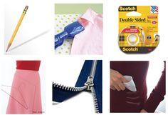 "Quick fix wardrobe tricks for those ""fashion emergencies""!  :-)"