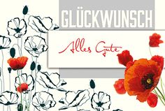 Druck auf glattem Karton. Auch die Karteninnenseite ist mit Motiv bedruckt. Mit Haltestanzung für Einlage. http://www.litei.de/glueckwunsch-karten/gluckwunschkarte-006705-853-b6-format-alles-gute-inkl-kuvert