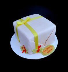 Wrap Present cake