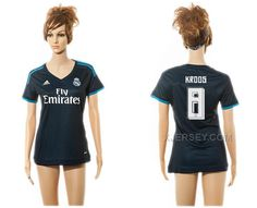 http://www.xjersey.com/201516-real-madrid-8-kroos-third-away-women-jersey.html 2015-16 REAL MADRID 8 KROOS THIRD AWAY WOMEN JERSEY Only $35.00 , Free Shipping!