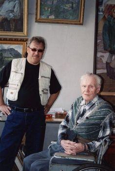 Андрей Елецкий с академиком Чесноковым Николаем Гавриловичем