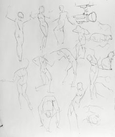 """WARA SKETCHES 1  Drawing, Pen & Ink on Paper, 24.0""""h x 18.0""""w"""