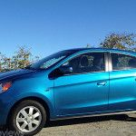 2015 Mitsubishi Mirage ES Review: Nice Choice for the High School and College Student #carreview #mitsubishi #cars