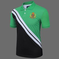 LUCKY SAILING Men's Brand T-Shirt Men Golf Polo cotton tops & tees Short Sleeve Golf Shirts Quick Dry Fit Plus Size M-XXXL