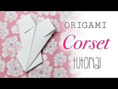Origami Espartilho / Corpete / Traje De Baño - Instruções - YouTube
