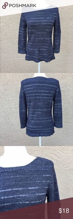 """COLDWATER CREEK Periwinkle Sweater Pretty periwinkle knit in excellent condition. Pit to pit: 18"""", Length: 25"""". ✨OFFERS WELCOME✨ Coldwater Creek Sweaters Crew & Scoop Necks"""