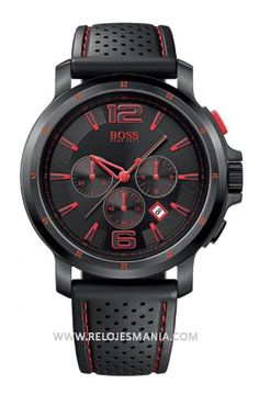 With a hint of red - Hugo Boss