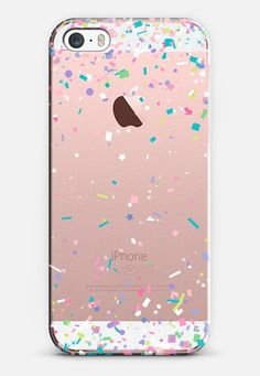 Pastel Spring Confetti Explosion iPhone SE case by Organic Saturation   Casetify