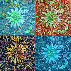 🌺 Raindrop lily #prisma mosaic...#plantlife  #lily #artistic #naturephotography 6/4/2017