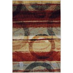Mohawk Home Strata Spice Printed Rug, Kaleidoscope
