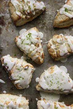 Coconut Lime Scones- hmm easy to convert using xylitol and coconut cream to make whip cream to make it low fructose