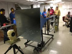 ".@NIOSH researchers demonstrate the ""ShockTube"" impulse noise generator to @CPWR visitors  via @NIOSHConstruct"