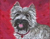 Cairn Terriers Highway Print from My Original Painting