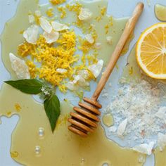 This combination of vitamin C and salt will exfoliate dead skin, revealing healthy, glowing skin underneath.