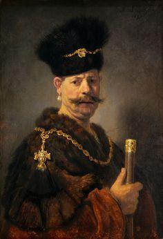 Rembrandt van Rijn-A Polish nobleman