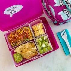 Taco Salad Bento Lunch for Kids - EatingWell.com