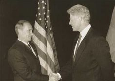 PUTIN VLADIMIR Russian President. Putin said-Bill Clinton very charming President of United States. September 1999 year, Auckland, New Zealand.