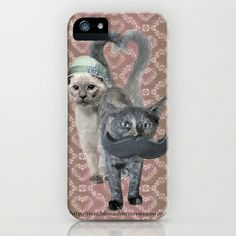 Love Cats iPhone & iPod Case by Magdalena Almero - $35.00